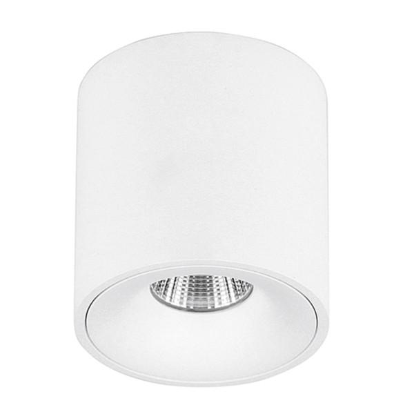 dimmbarer runder weißer LED Deckenstrahler einflammig Ø 7.9 cm