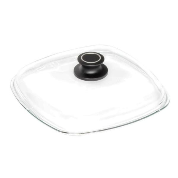 AMT viereckiger Glasdeckel aus Sicherheitsglas - Art.-Nr. E26