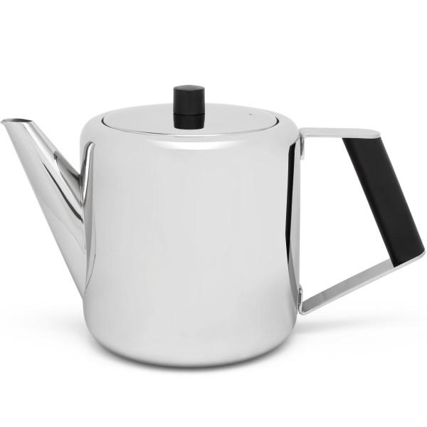 glänzende doppelwandig isolierte Edelstahl Teekanne 1.1. Liter