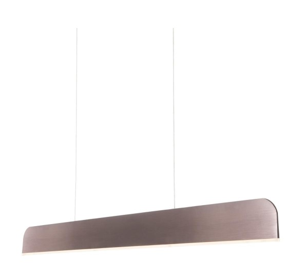LED Pendelleuchte Sek dunkelrot eloxiert