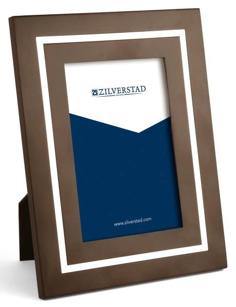 Zilverstad Bilderrahmen Madrid Holz/versilbert anlaufgeschützt L 10 cm H 15 cm - Art.-Nr. 8028231