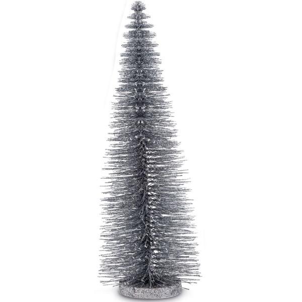 H.Bauer jun. Glitzerbaum Deko 14 cm Höhe 45 cm - Art.-Nr. 5251