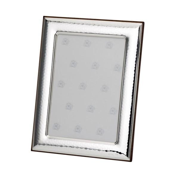 H.Bauer jun. Fotorahmen x 10 cm gehämmert Höhe 15 cm - Art.-Nr. 30040 glänzender