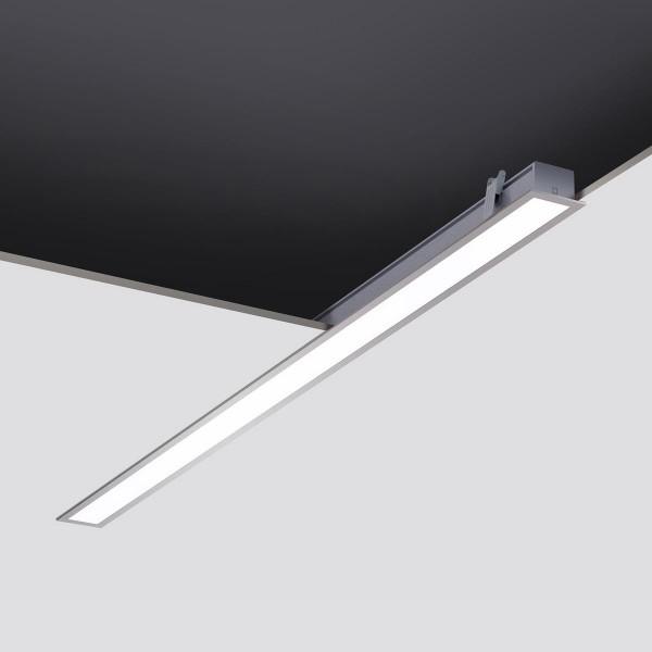 LED Einbauleuchte Infinite grau / Diffuser mattiert