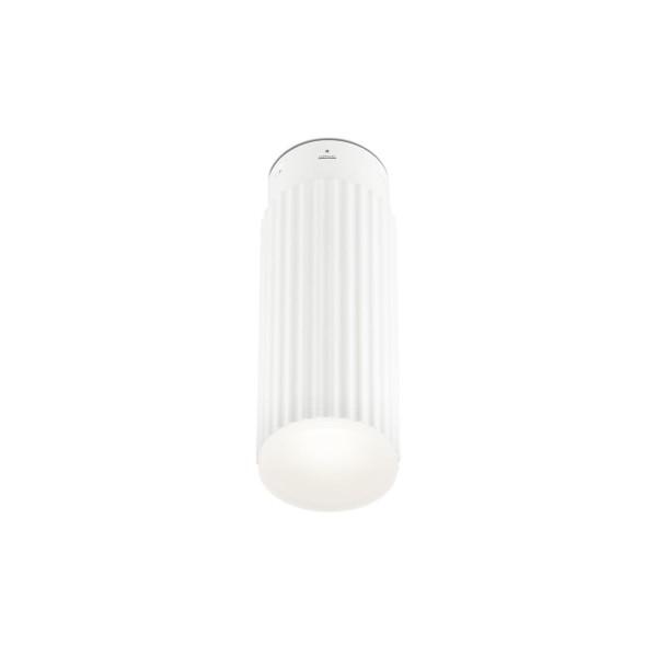 LED Deckenleuchte Rigatto Ø 78 mm matt weiss