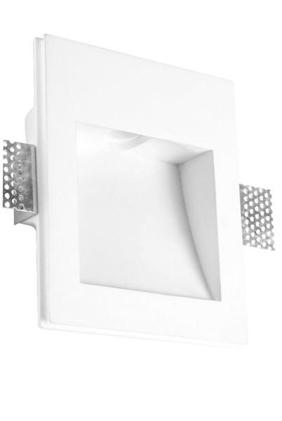LED Wandleuchte Secret weiss