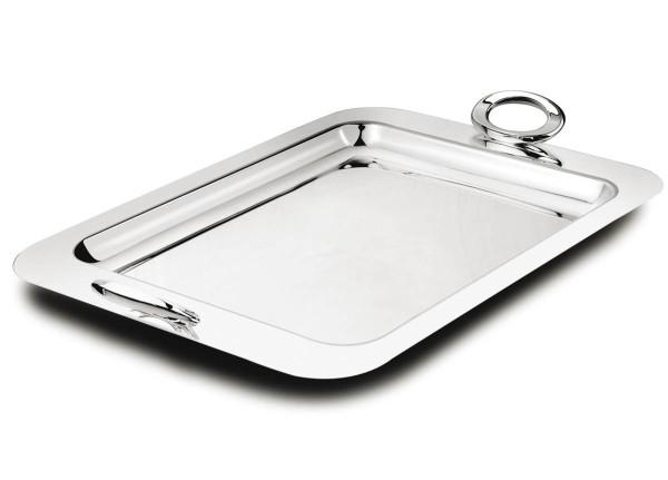 Zilverstad Tablett rechteckig Ovation versilbert - Art.-Nr. 7903230