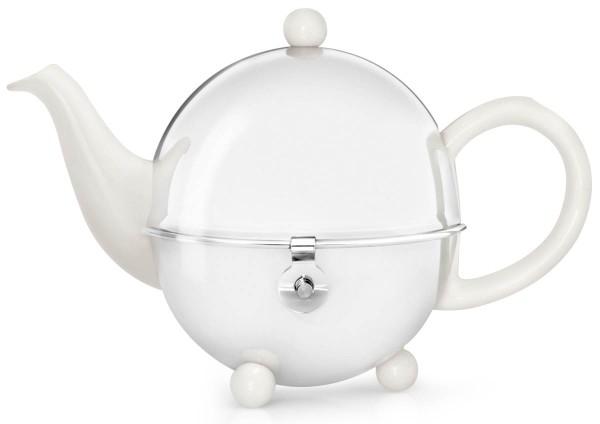 Bredemeijer Teekanne 0,5 L Cosy cremeweiß matt - Art.-Nr. 1300W - Bild 1