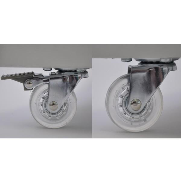 Rollen für Standvitrine IV6042 - Art.-Nr. IV6042-Rollen