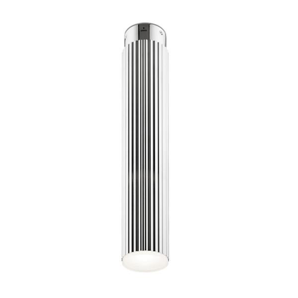LED Deckenleuchte Rigatto Ø 78 mm chrom
