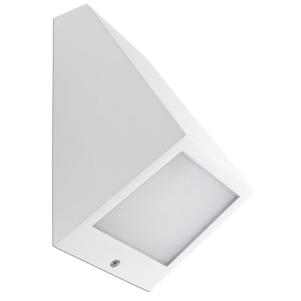 LED Wandleuchte Angle weiss