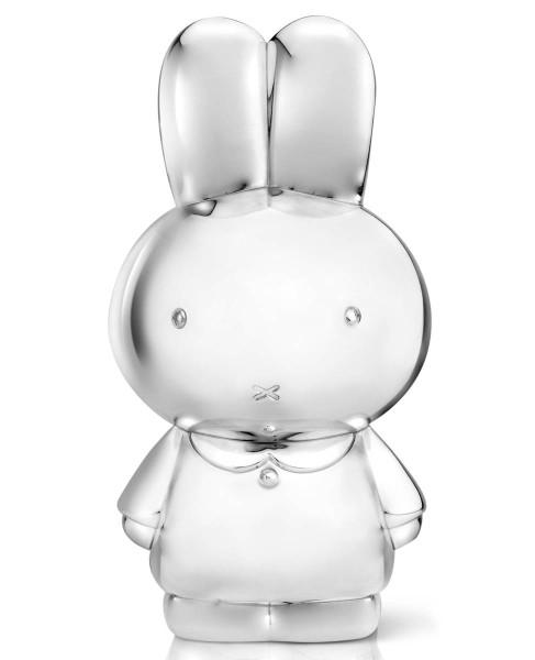 Zilverstad Spardose miffy XL versilbert anlaufgeschützt L 8 cm B 17,6 cm H 9,2 cm - Art.-Nr. 6850261