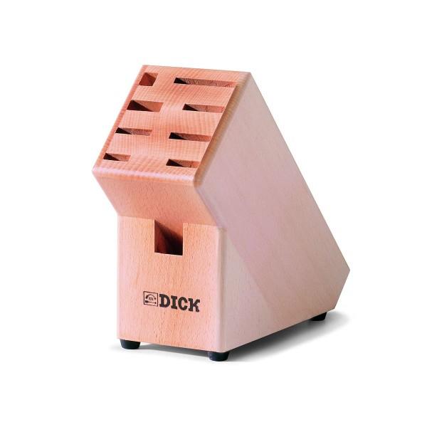 Dick 8807001 Messerblock aus Holz unbestückt