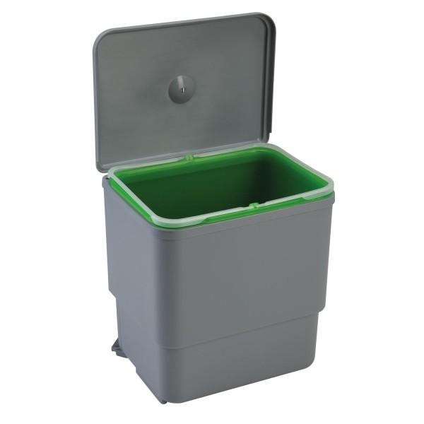 Einbau Abfallsammler 30 cm 16 Liter Deckel-Automatik
