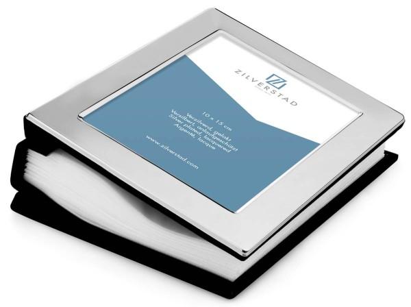 Zilverstad Fotoalbum & breiter Rand für 100 Fotos versilbert anlaufgeschützt L 10 cm H 15 cm - Art.-Nr. 6841600