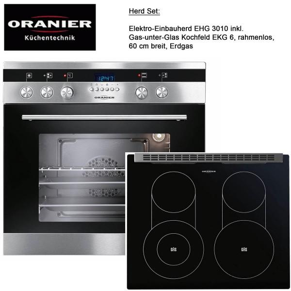 oranier einbauherd kochfeld gas glas rahmenlos 60 cm erdgas propangas mm comsale. Black Bedroom Furniture Sets. Home Design Ideas