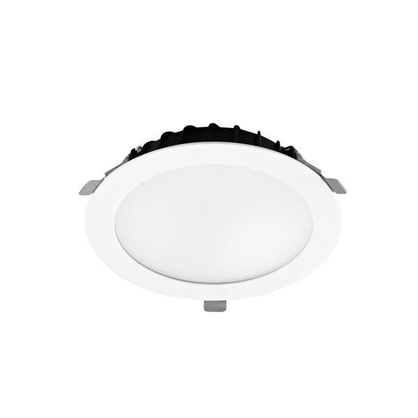 LED Einbauleuchte Vol Ø 205 mm weiss