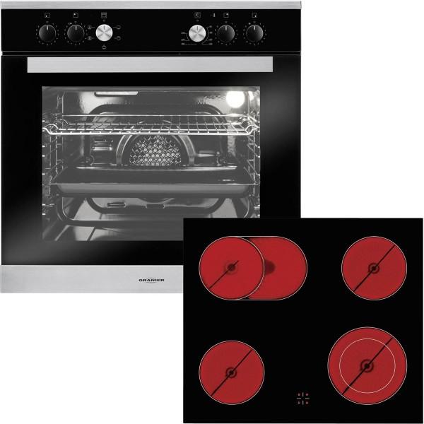 oranier einbauherd edelstahl ebh9913 kochfeld rahmenlos 60 cm mm comsale. Black Bedroom Furniture Sets. Home Design Ideas