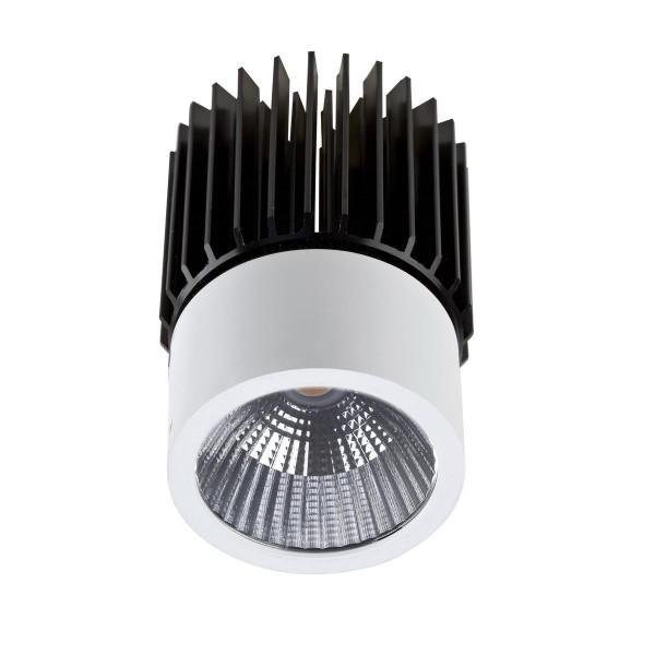 LED Einbauleuchte Play Ø 50 mm weiss chrom