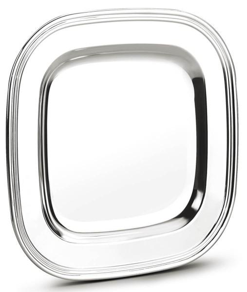 Zilverstad Teller Windsor versilbert L 24 cm B 24 cm H 1,7 cm - Art.-Nr. 6275230