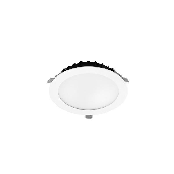 LED Einbauleuchte Vol Ø 134 mm weiss