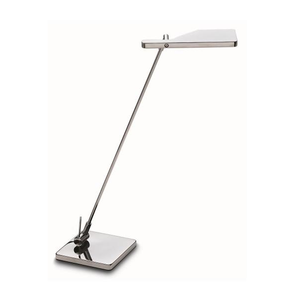 LED Tischleuchte Elva chrom
