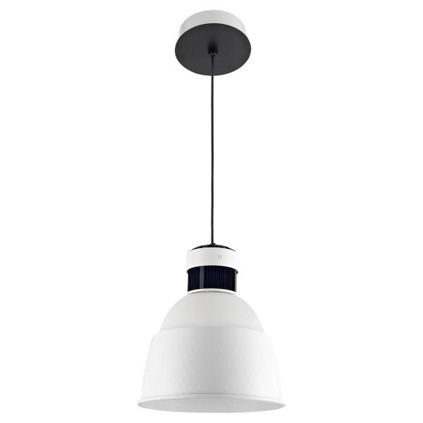LED Pendelleuchte Pek Ø 330 mm weiss