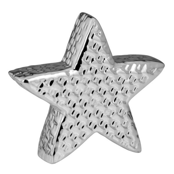 H.Bauer jun. Dekoration Stern 12.3 x 3.4 cm gewebt Höhe 11.6 cm - Art.-Nr. 6274ver Porzellan