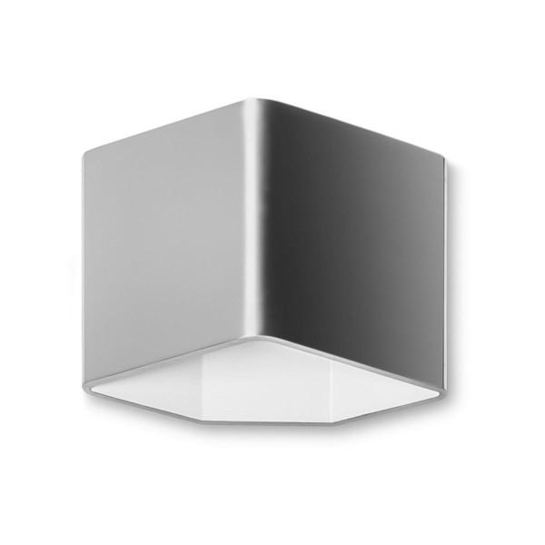 LED Wandleuchte Jet Edelstahl poliert matt