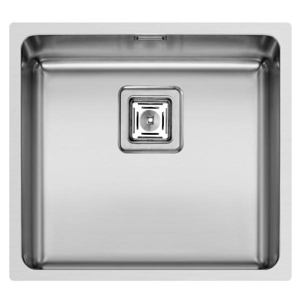 Pyramis Küchenspüle Lume 49 cm 1 Becken (flächenbündig)