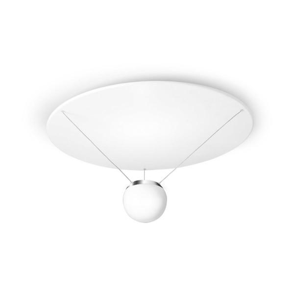 LED Deckenleuchte Single Ø 514 mm matt weiss