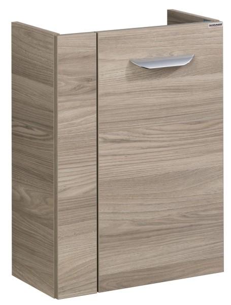Fackelmann 79911 Waschbecken Unterschrank Gäste WC Luxor 45 cm stein-esche Optik links