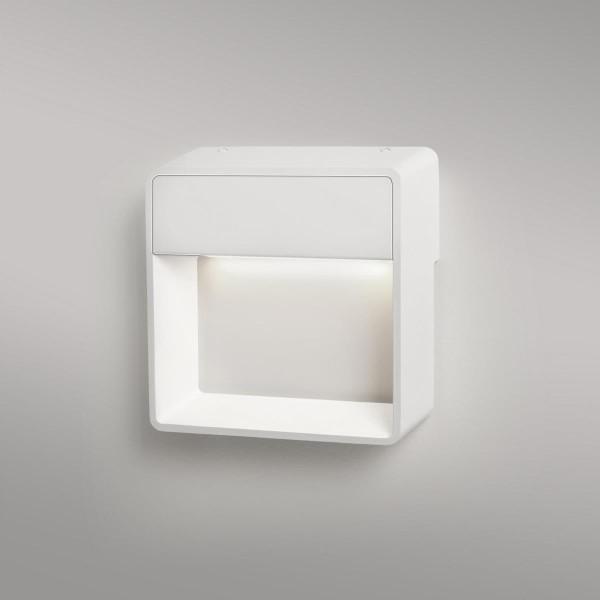 LED Wandleuchte Cell Me matt weiss