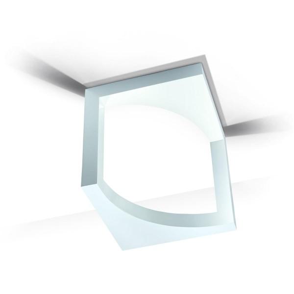 Deckenleuchte Escher grau