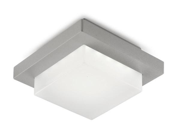 LED Deckenleuchte Jep Ø 14 mm grau