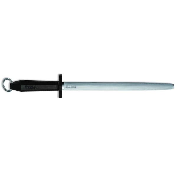 Dick 77553302 Eurocut Wetzstahl oval schwarz 30 cm
