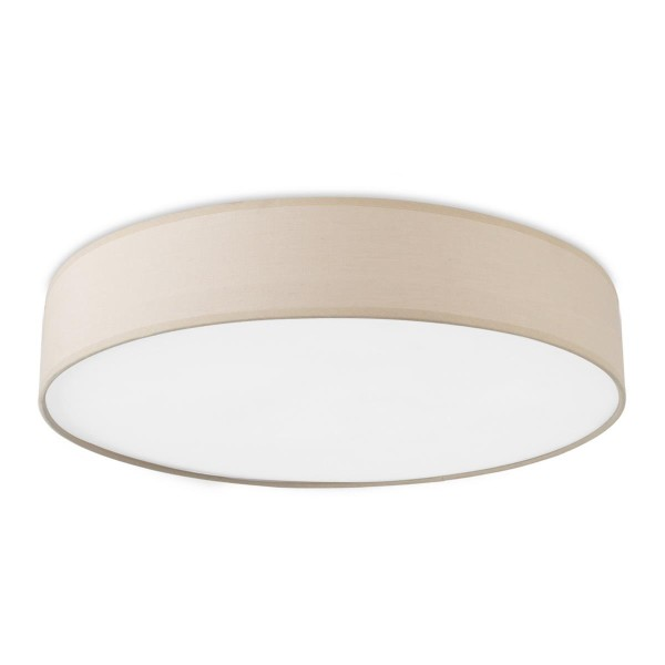 LED Deckenleuchte Bol Ø 450 mm sand, opal weiss
