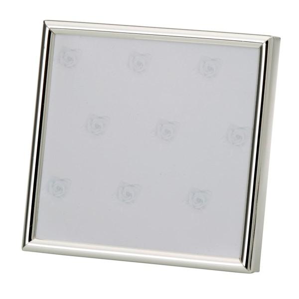 H.Bauer jun. Fotorahmen x 9 cm glatt poliert Höhe 9 cm - Art.-Nr. 3773ver versilberter