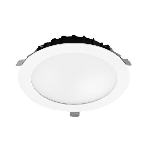LED Einbauleuchte Vol Ø 255 mm weiss
