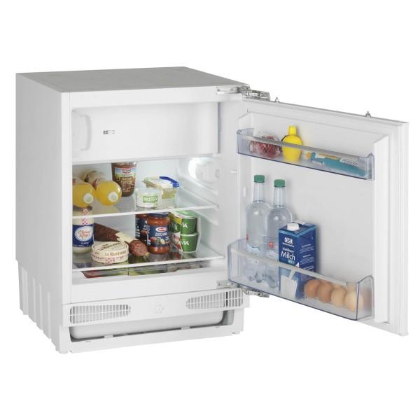 Oranier kleiner unterbaufähiger Kühlschrank 82 cm mit Gefrierfach & Festtür