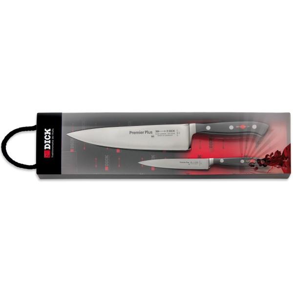 Dick geschmiedetes Messerset zum Kochen 2 teilig