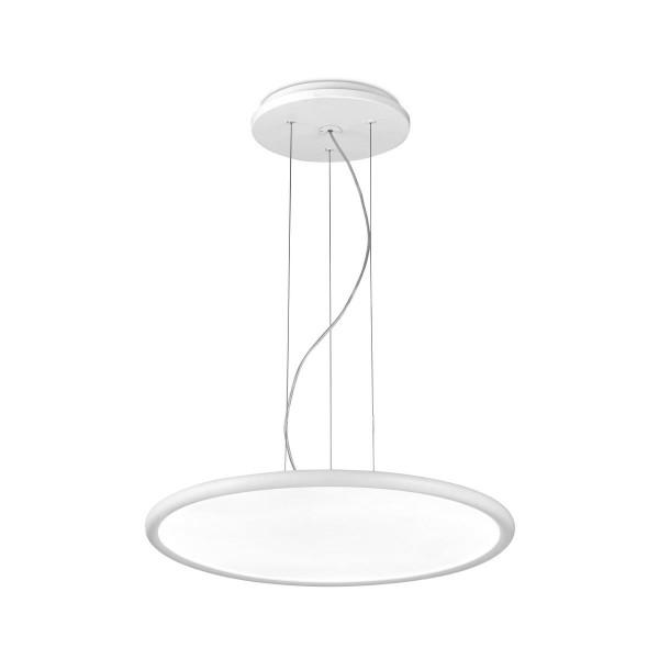 LED Pendelleuchte Net Ø 575 mm matt weiss