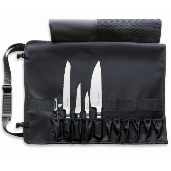 Dick kleine Einsteiger Messer-Rolltasche 5 teilig für Köche