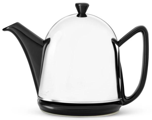 Bredemeijer Teekanne 1,0 L Cosy Manto Keramik Edelstahl doppelwandig - Art.-Nr. 1510Z - Bild 1