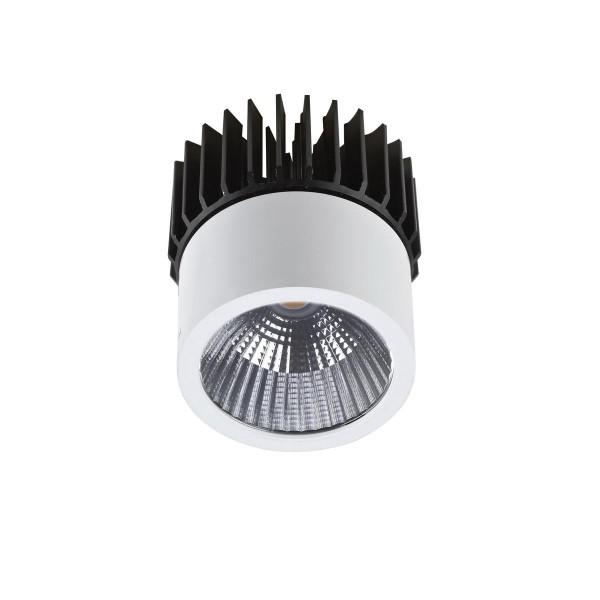 LED Einbauleuchte Play Ø 53 mm weiss