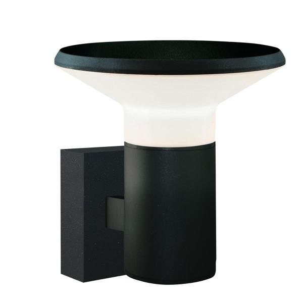 LED Wandleuchte Space Ø 180 mm anthrazit