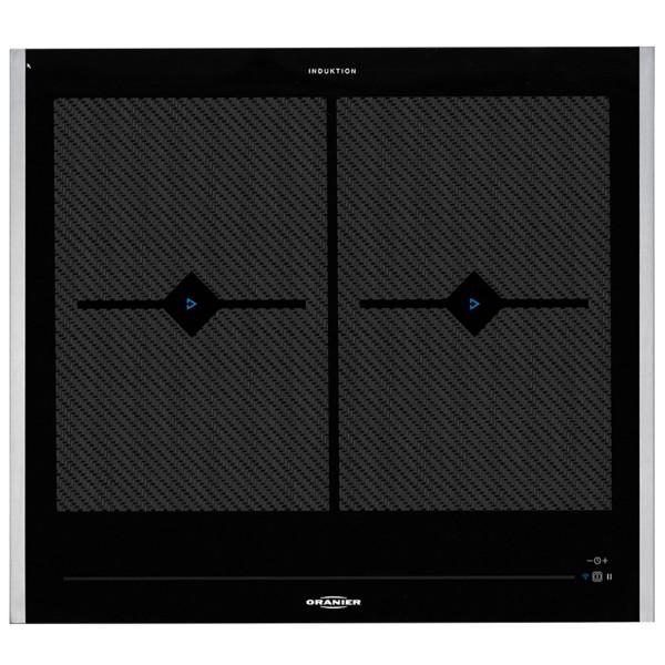 Oranier breites Flächeninduktions-Glaskeramikkochfeld FLI 2068 be cook & Seitenleisten