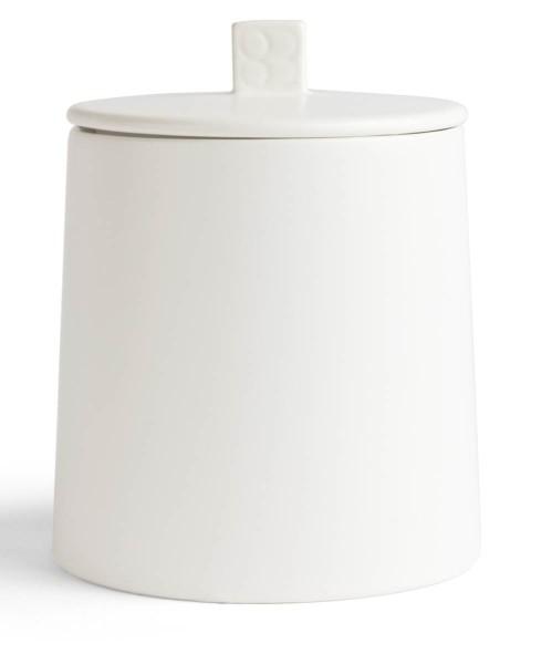 Bredemeijer Vorratsdose 400 gr. Lund weiß Keramik - Art.-Nr. LD011W