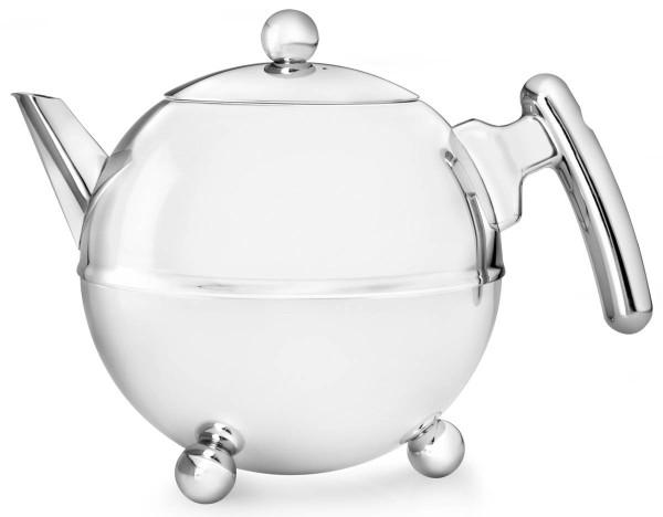 Bredemeijer Teekanne 0,75 L Duet Bella Ronde Edelstahl doppelwandig - Art.-Nr. 1303CH - Bild 1