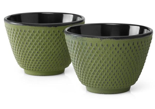 Bredemeijer Teebecher Asia Xilin grün Gusseisen 2er-Set - Art.-Nr. G004GR